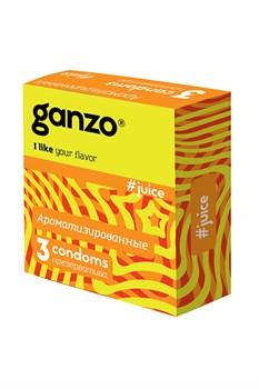 Презервативы Ganzo Juice № 3 - фото 10239
