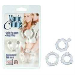 Колечки прозрачные MAGIC C-RINGS - фото 11265