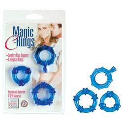 Колечки синие MAGIC C-RINGS - фото 11267