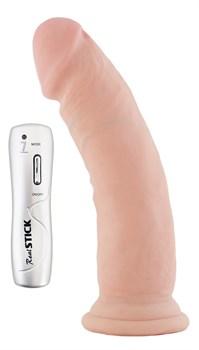 Вибратор на присоске телесный, 7 режимов вибрации, 18 см - фото 11426