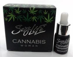 "Духи ""Sexy Life""женские ""Cannabis Pheromone"", 5мл - фото 11468"