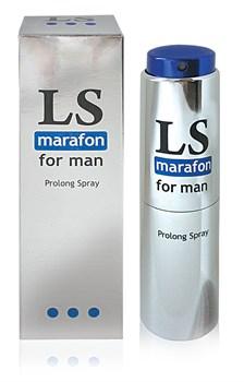 """""""LOVESPRAY MARAFON"""" спрей для мужчин (пролонгатор) 18мл арт. LB-18004 - фото 11617"""