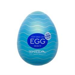 TENGA Egg Мастурбатор яйцо Cool с охлаждающим эффектом - фото 12389