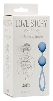 Вагинальные шарики Love Story Diaries of a Geisha Sky Blue 3005-04Lola - фото 13553