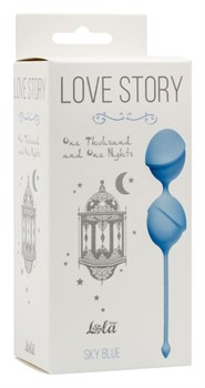 Вагинальные шарики Love Story One Thousand and One Nights Sky Blue 3004-04Lola - фото 13559