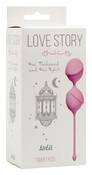 Вагинальные шарики Love Story One Thousand and One Nights Sweet Kiss 3004-01Lola - фото 13560