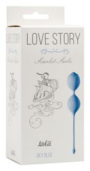 Вагинальные шарики Love Story Scarlet Sails Sky Blue 3003-04Lola - фото 13562