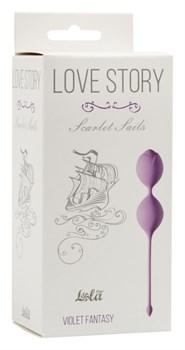 Вагинальные шарики Love Story Scarlet Sails Violet Fantasy 3003-05Lola - фото 13564