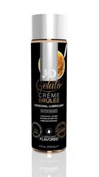 Вкусовой лубрикант на водной основе JO GELATO CREME BRULEE FLAVORED LUBRICANT 120mL - фото 13681