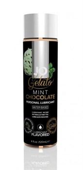 Вкусовой лубрикант на водной основе JO GELATO MINT CHOCOLATE FLAVORED LUBRICANT 120mL - фото 13683