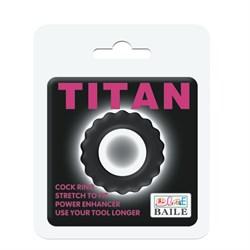 Эрекционное кольцо Titan BI-210145 - фото 14736