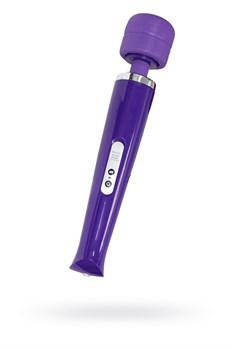 Массажер для тела перезаряжаемый Magic Wand фиолетовый 10 режимов - фото 15203