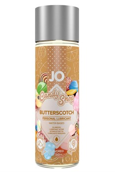"Вкусовой лубрикант на водной основе Candy Shop ""Ириски"" (Butterscotch) - 60 мл. - фото 15650"