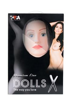 Кукла надувная с реалистичной головой. Брюнетка.  Кибер вставка вагина – анус. 3 отверстия. - фото 15799