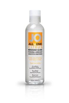 Массажный гель-масло ALL-IN-ONE Massage Oil Citrus с ароматом цитруса 120 мл - фото 6901