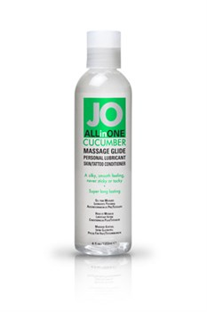 Массажный гель-масло ALL-IN-ONE Massage Oil Cucumber огуречный 120 мл - фото 6919