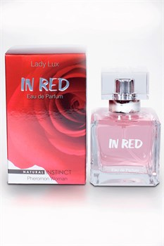 Духи женские Natural Instinct Lady Lux «In Red», 100 мл - фото 7047