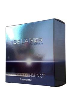 "Natural Instinct Парфюмерная вода мужская ""De La Mer "" 100 мл - фото 7052"