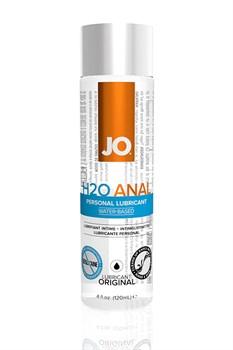 Анальный любрикант на водной основе JO Anal H2O, 4 oz (120мл.) - фото 7097