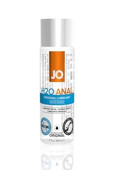 Анальный любрикант на водной основе JO Anal H2O, 2 oz (60мл.) - фото 7099