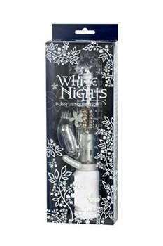 Вибромассажер коллекционный Хай-Тек  White Nights водонепроницаемый - фото 7270