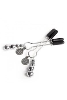 Зажимы на соски Adjustable Nipple Clamps металлические - фото 8301