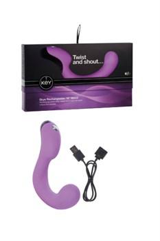 Вибромассажер G-точки SKYE фиолетовый - фото 8952