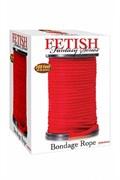 Верёвка для связывания красная(диаметр 0,64см,цена за 1 метр)