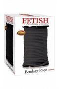 Верёвка для связывания черная(диаметр 0,64см, цена за 1 метр)